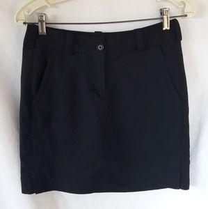 Nike Golf Skirt built in shorts black Dri-fit